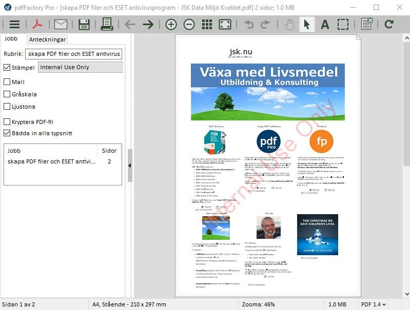 ändra text i pdf gratis